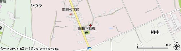 山形県上山市関根59周辺の地図