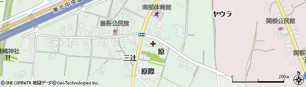 山形県上山市藤吾1457周辺の地図