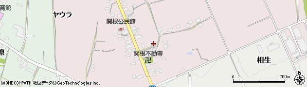 山形県上山市関根62周辺の地図