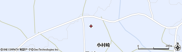 宮城県蔵王町(刈田郡)小村崎(戸ノ内中)周辺の地図