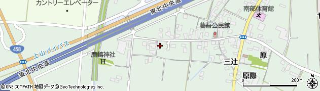 山形県上山市藤吾30周辺の地図