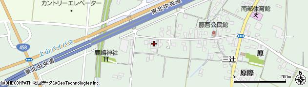 山形県上山市藤吾32周辺の地図