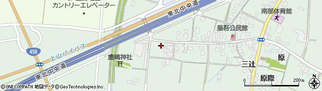 山形県上山市藤吾33周辺の地図