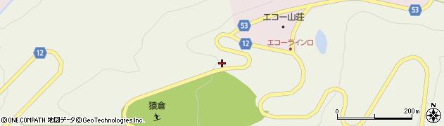 山形県上山市蔵王2852周辺の地図