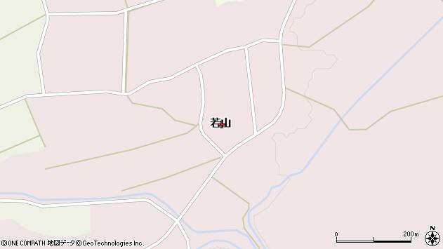 〒959-3212 新潟県岩船郡関川村若山の地図