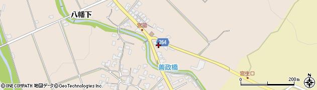 山形県上山市宮脇384周辺の地図