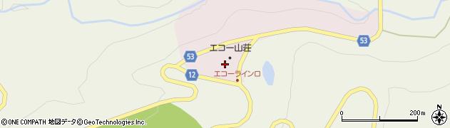 山形県上山市永野蔵王山2561周辺の地図