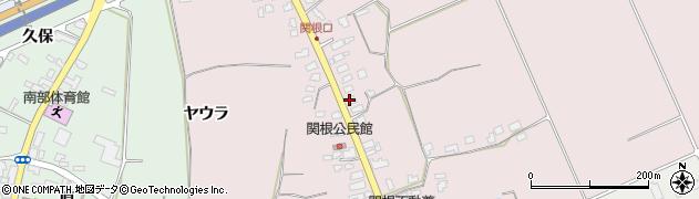 山形県上山市関根35周辺の地図