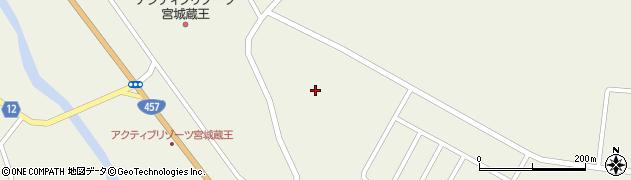 宮城県蔵王町(刈田郡)遠刈田温泉(逆川)周辺の地図