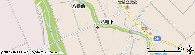山形県上山市宮脇白山裏443周辺の地図