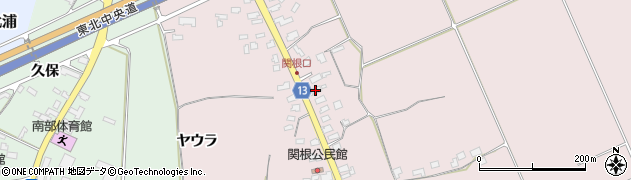 山形県上山市関根31周辺の地図