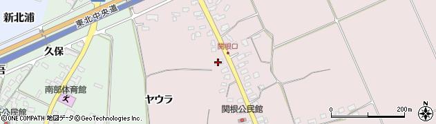 山形県上山市関根19周辺の地図
