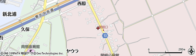 山形県上山市関根20周辺の地図