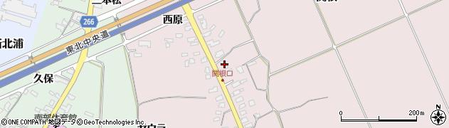 山形県上山市関根27周辺の地図