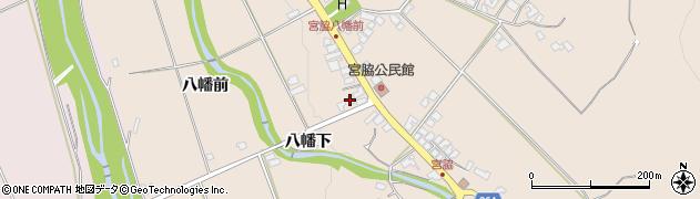 山形県上山市宮脇76周辺の地図