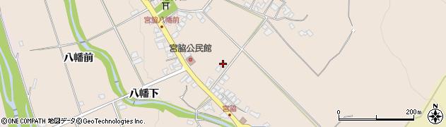 山形県上山市宮脇96周辺の地図