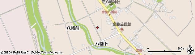 山形県上山市宮脇八幡前367周辺の地図