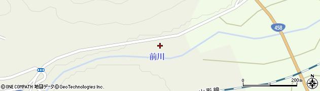 山形県上山市川口下河原周辺の地図