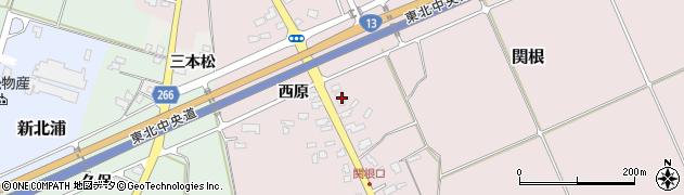 山形県上山市関根23周辺の地図