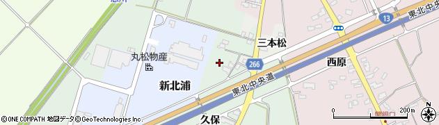山形県上山市藤吾谷地周辺の地図