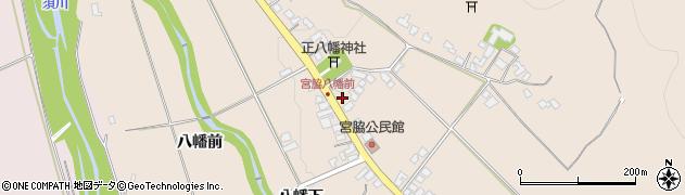 山形県上山市宮脇65周辺の地図