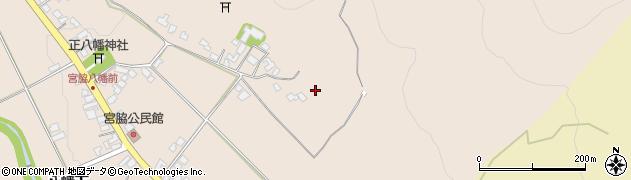 山形県上山市宮脇292周辺の地図