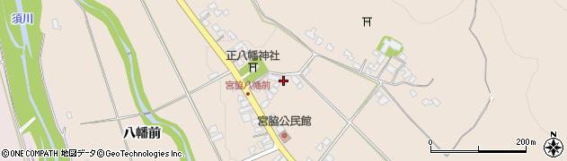 山形県上山市宮脇62周辺の地図