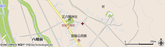 山形県上山市宮脇84周辺の地図