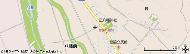 山形県上山市宮脇八幡前373周辺の地図