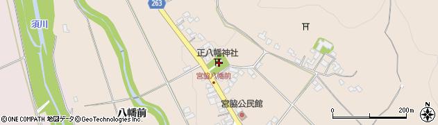 山形県上山市宮脇高野坂52周辺の地図