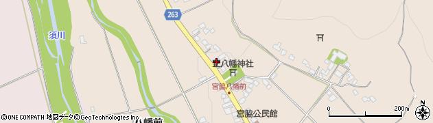 山形県上山市宮脇48周辺の地図