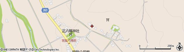 山形県上山市宮脇261周辺の地図