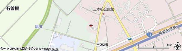 山形県上山市河崎三本松584周辺の地図