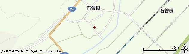 山形県上山市石曽根148周辺の地図