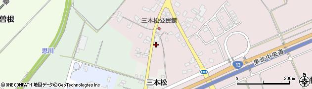 山形県上山市三本松931周辺の地図