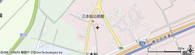 山形県上山市三本松927周辺の地図