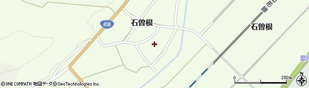 山形県上山市石曽根21周辺の地図