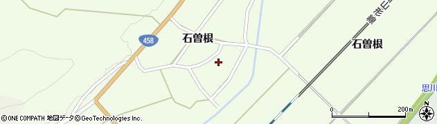 山形県上山市石曽根22周辺の地図