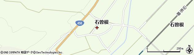 山形県上山市石曽根14周辺の地図