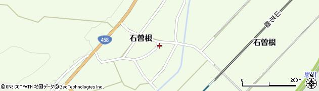 山形県上山市石曽根34周辺の地図