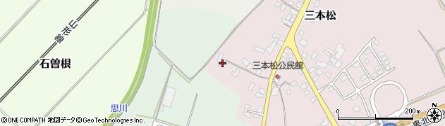 山形県上山市三本松81周辺の地図