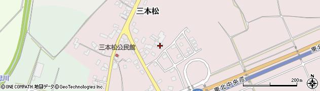 山形県上山市三本松253周辺の地図