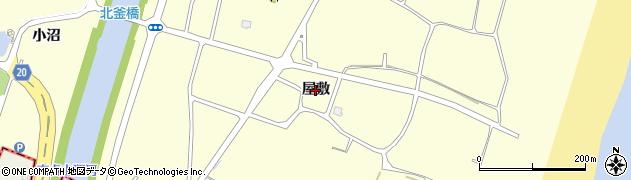 宮城県名取市下増田(屋敷)周辺の地図