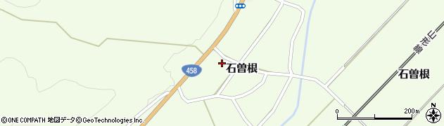 山形県上山市石曽根周辺の地図