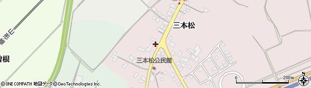 山形県上山市三本松77周辺の地図