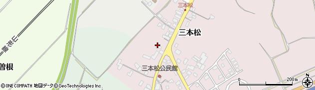 山形県上山市三本松91周辺の地図