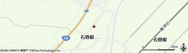 山形県上山市石曽根38周辺の地図