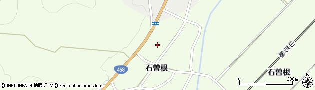 山形県上山市石曽根39周辺の地図