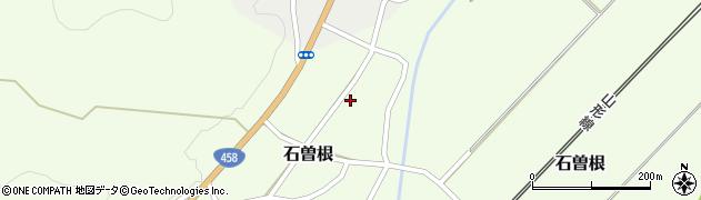 山形県上山市石曽根43周辺の地図