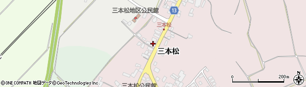 山形県上山市三本松1326周辺の地図